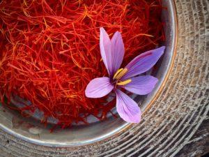 Nghệ tây và nhụy hoa đắt giá