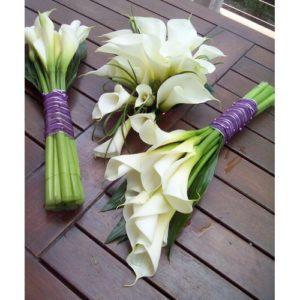 Hoa rum làm hoa cưới rất đẹp